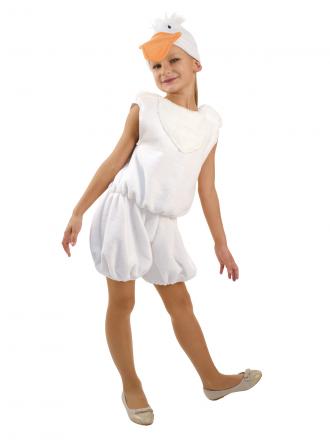 Карнавальный костюм Гусенок белый