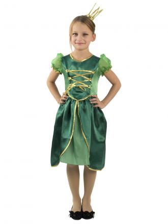 Карнавальный костюм Царевна-Лягушка детский для девочки