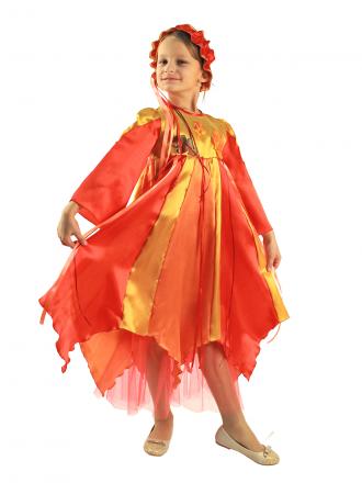 Карнавальный костюм Осень для девочки детский