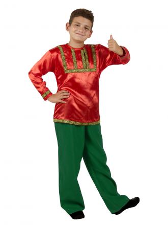 Рубаха фольклорная для мальчика детская