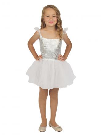 Карнавальный костюм Снежинка детский для девочки
