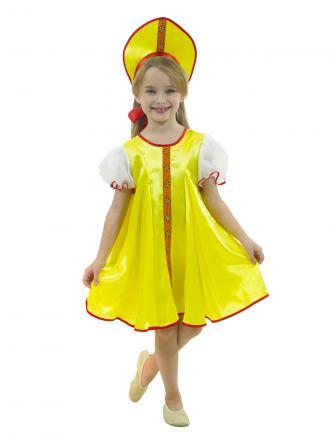 Карнавальный костюм Царевна детский