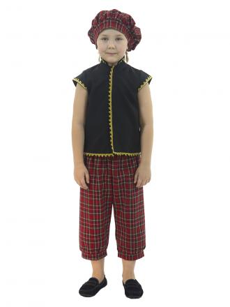 Карнавальный костюм Шотландец детский для мальчика