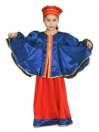 Карнавальный костюм Масленица детский для девочек
