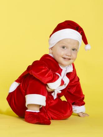 Карнавальный костюм Санта Клаус детский для малышей