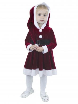 Карнавальный костюм Подружка Санты для малышей