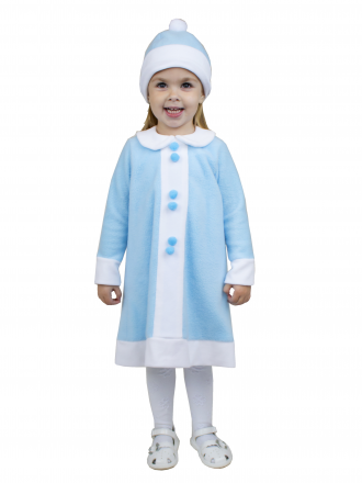 Карнавальный костюм детский Снегурочка для малышки