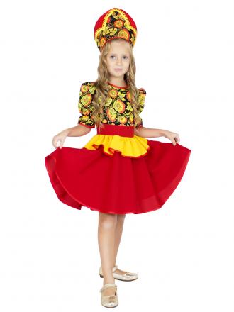 Карнавальный костюм Хохломской сувенир