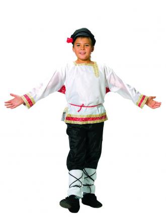 Русский народный костюм Иванушка подростковый на мальчика