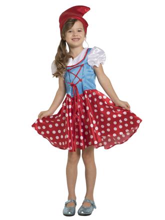 Карнавальный костюм Гном девочка детский