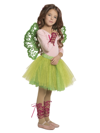 Набор для вечеринки Фея Винкс Флора детский для девочки