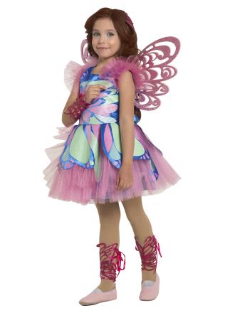 Карнавальный костюм Фея Винкс Блум детский для девочки