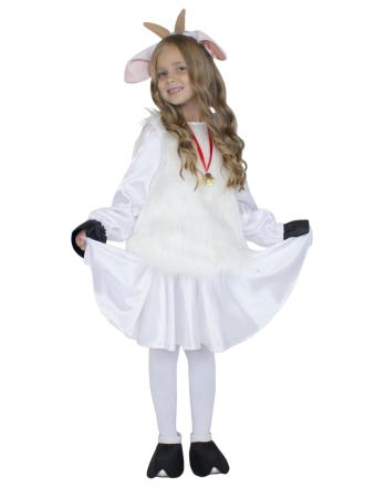 Карнавальный костюм Козочка подростковый для девочки