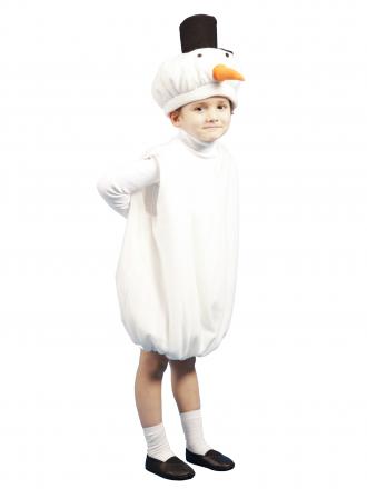 Карнавальный костюм Снеговик детский