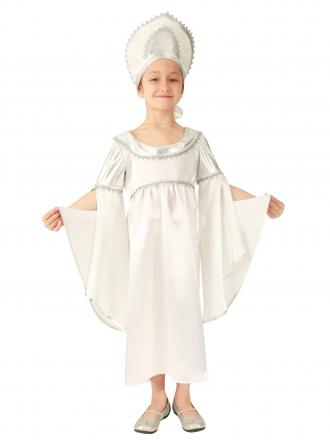 Карнавальный костюм Метель детский для девочки