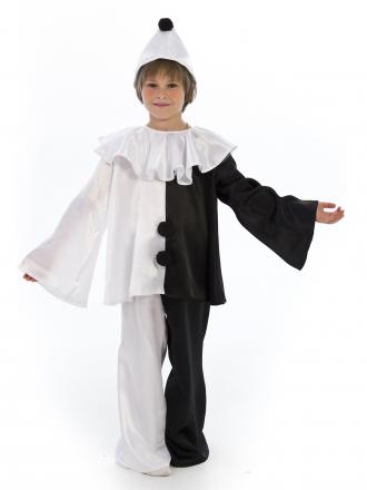Карнавальный костюм Пьеро детский