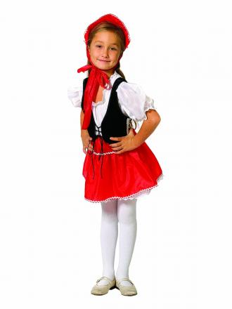 Карнавальный костюм Красная Шапочка детский для девочки