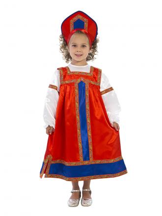 Русский народный костюм Маруся детский для девочки
