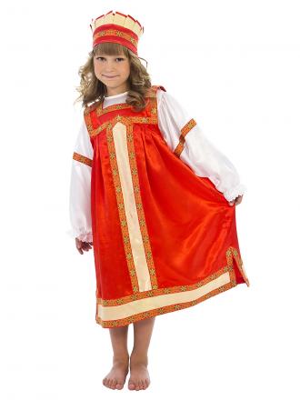 Русский народный костюм Аленушка детский