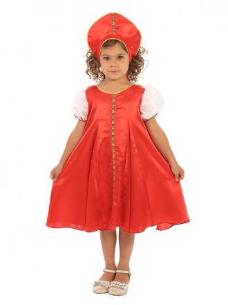 Карнавальный костюм Царевна детский для девочки